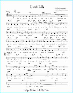 chord lush life 1 lagu jazz standar