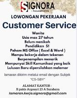 Info Lowongan Kerja di Signora - Households Surabaya Februari 2021