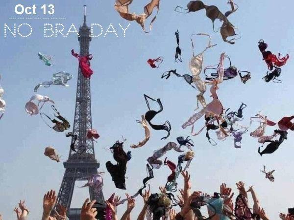 National No Bra Day Wishes for Whatsapp