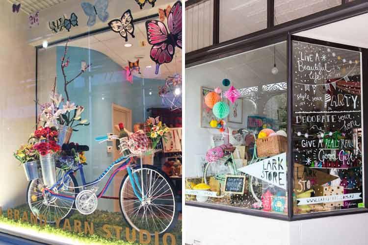 Marzua decoraci n de escaparates peque os - Ideas escaparates originales ...