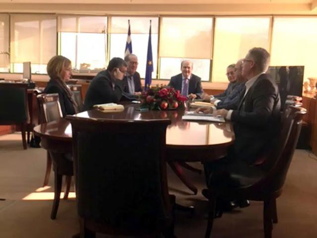 Η Μεγαλόπολη στο επίκεντρο της συνάντησης του Π. Νίκα με τον Κ. Χατζηδάκη