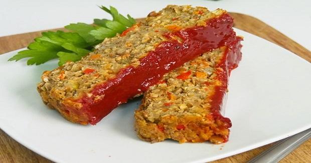 Best Lentil Meatless Meatloaf Recipe