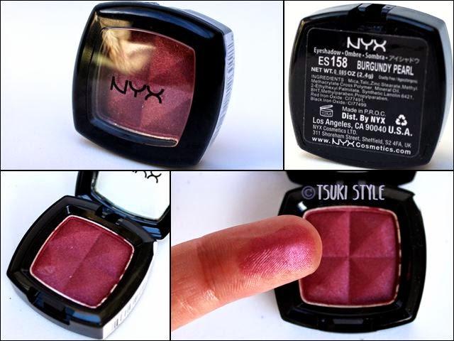 burgundy pearl nyx