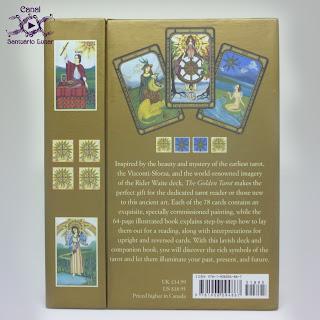 The Golden Tarot (CICO Books) - Box (Back)