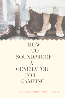 how to soundproof a generator for camping