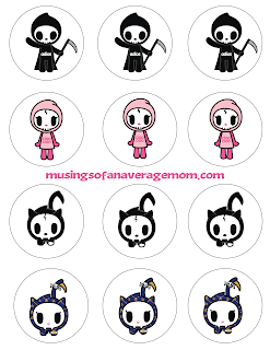 tokidoki 'til death do us part birthday printables