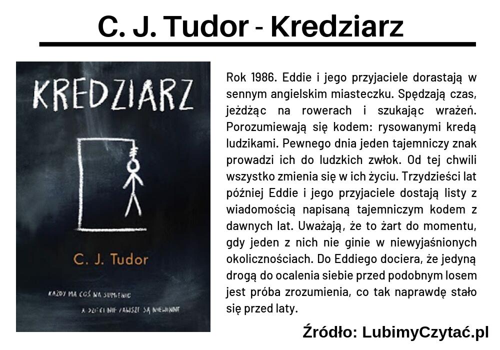 C. J. Tudor - Kredziarz, Cykl książkowy, Marzenie Literackie