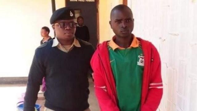 Fadhili Silwimba, 32, who on September 7, 2019, provoked Tanzania's President John Pombe Magufuli on Facebook, jailed photos