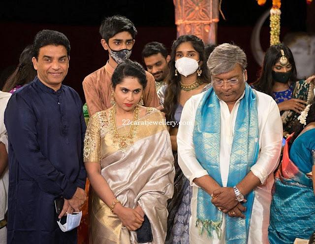 Dil Raju wife in Guttapusalu Haram