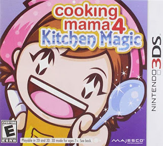 Cooking Mama 4 3DS CIA