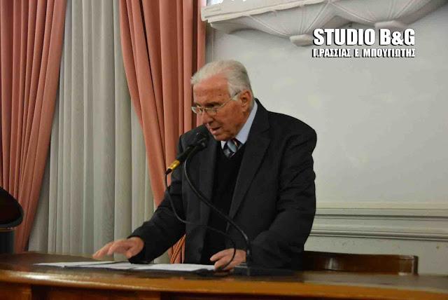Πέθανε ο πρώην Δημαρχος Άργους Δημήτρης Παπανικολάου