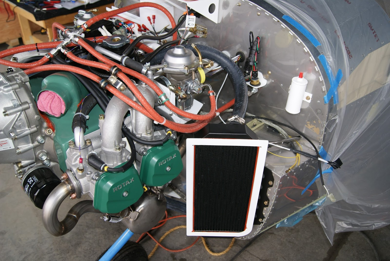 DOG Aviation John\'s RV-12 Blog: Discovered Missing Threaded Hole On ...