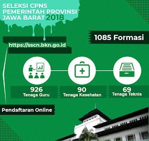 Formasi CPNS 2019 Provinsi JABAR akan didominasi Tenaga Kesehatan dan Guru!