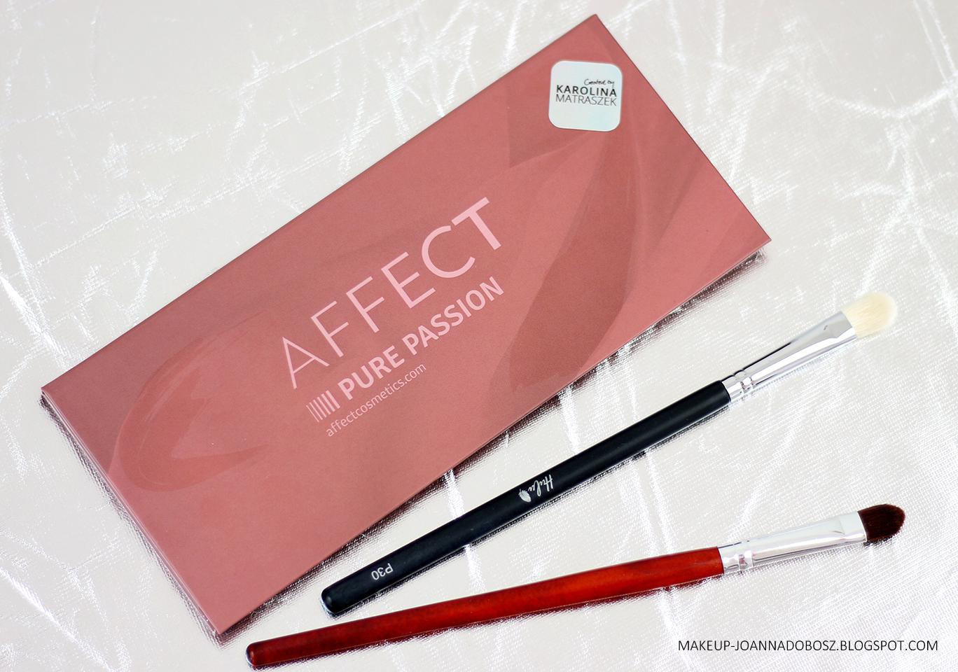 CZYSTA PASJA! Paleta Pure Passion od Affect Cosmetics poleca się nie tylko do ślubu :)