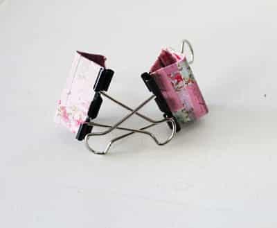 cách làm giá đỡ điện thoại băng kẹp bướm