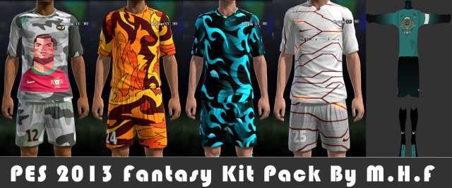 Fantasy Kits Pack PES 2013
