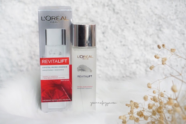 Review L'Oréal Paris Revitalift Crystal Micro-Essence