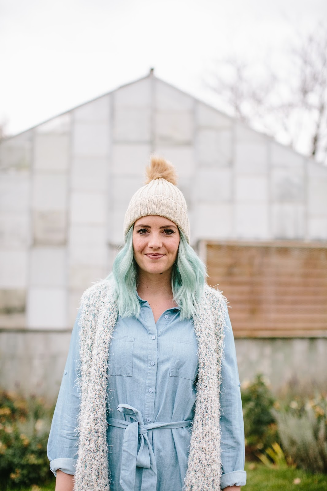 Pom Pom Beanie, Modest Outfit, Fashion Blogger