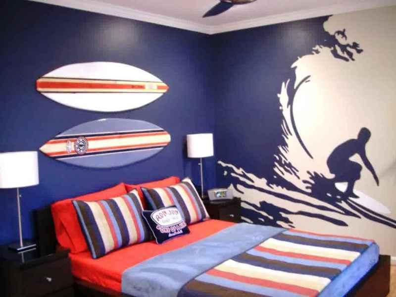 desain kamar anak laki sederhana dan kreatif