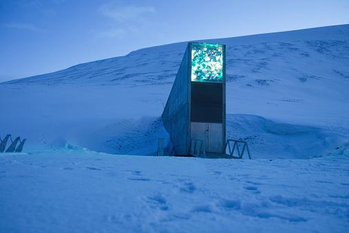 Global seed vault of Svalbard