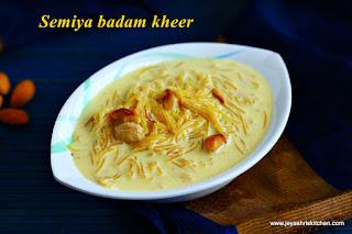 Semiya badam kheer