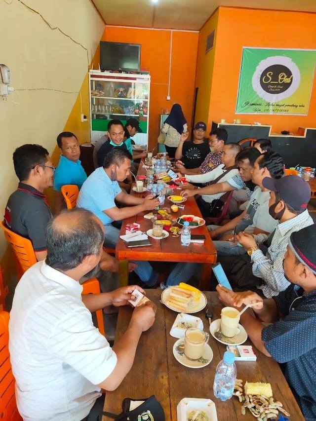 Ketua PKB Baru Silaturahmi Dengan Wartawan