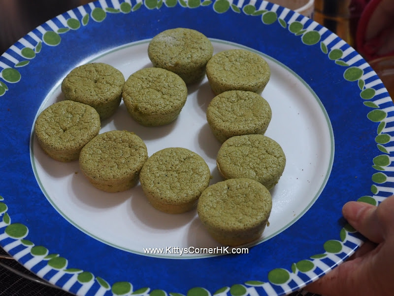 Light Green Tea Cake 輕盈綠茶蛋糕 自家烘焙 食譜 home baking recipes