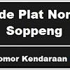 Kode Plat Nomor kendaraan Soppeng