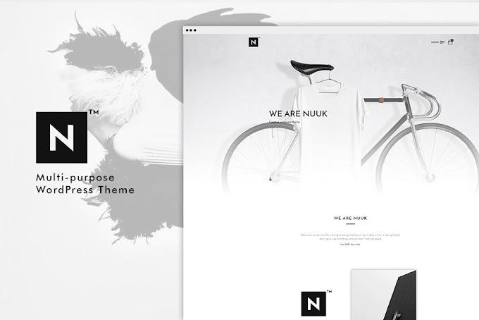 Download Theme Portfolio - Nuuk Multipurpose WP Theme