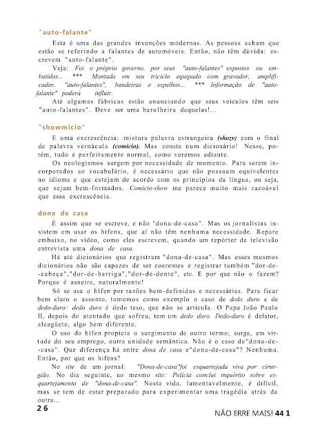 Não erre mais pdf
