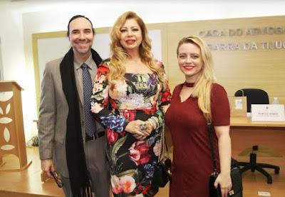 Presidente da Fundação Fec, Kristhel Byancco recebeu láurea pela atuação à frente da entidade
