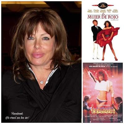 Kelly LeBrock 'La mujer de rojo'