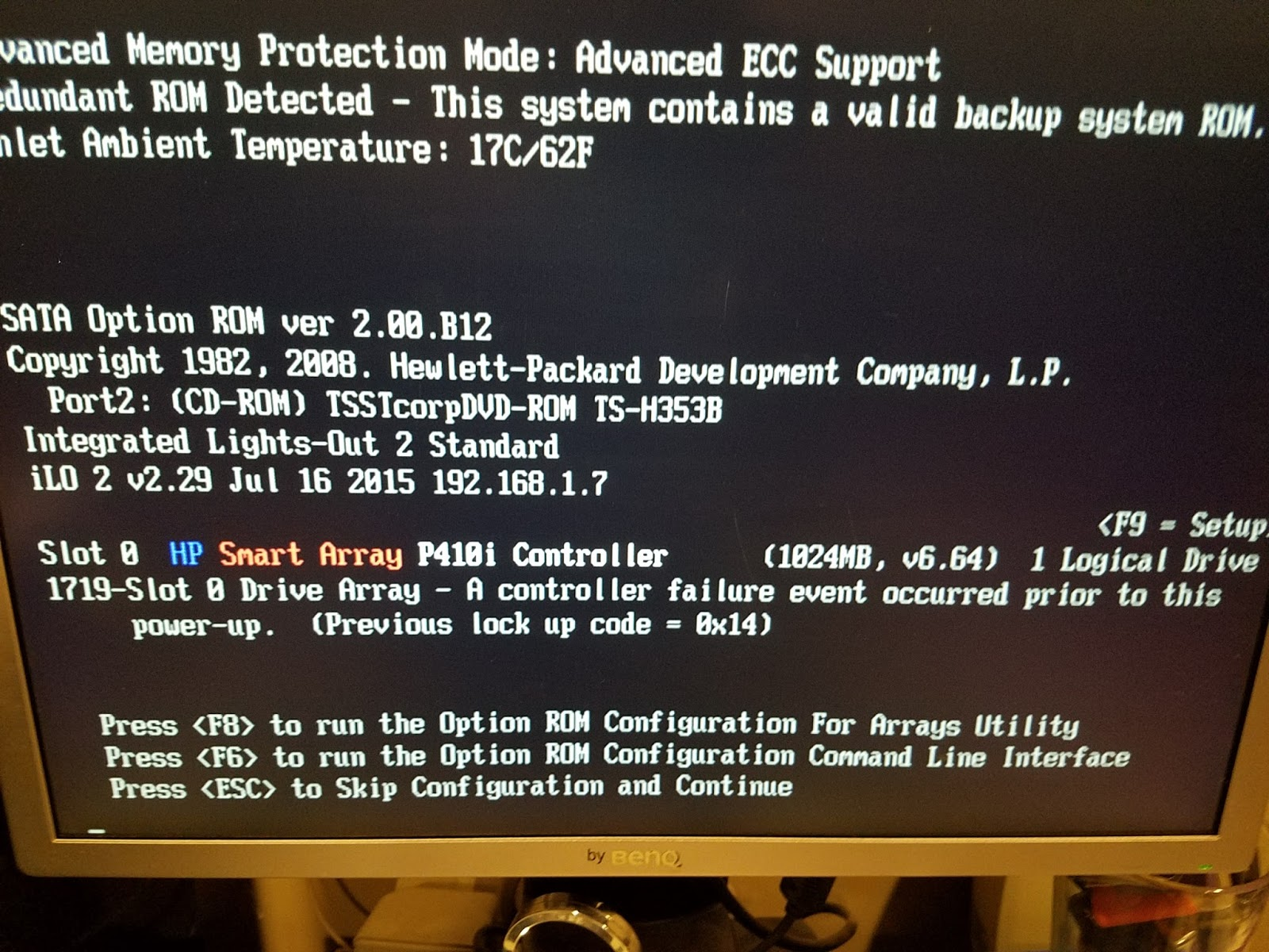 Jungle-Information Technology: ESXi 6 x and HP G6 ML350 server