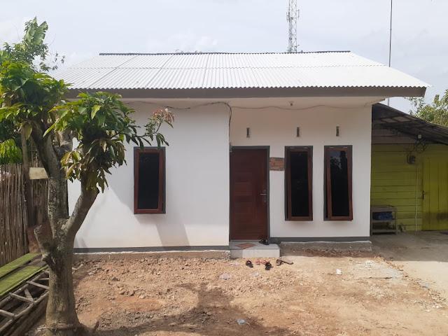 Sinergi Program Pemerintah Kota Prabumulih, SKK Migas - Pertamina EP Asset 2 Serahkan 2 Unit Rumah Layak Huni