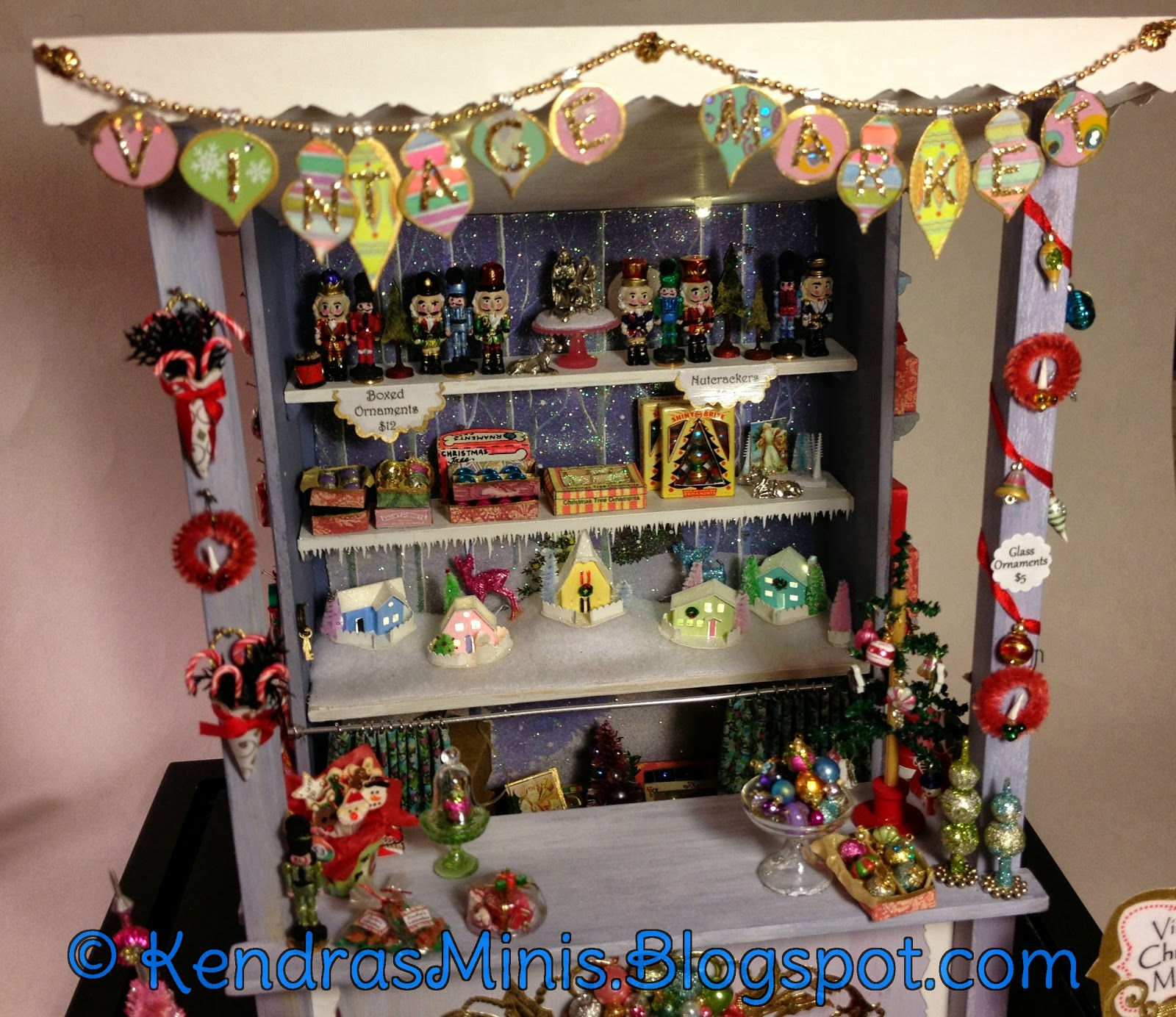 kendras minis christmas market stall finished