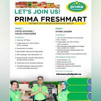 Lowongan kerja Prima Freshmart Jakarta terbaru 2020