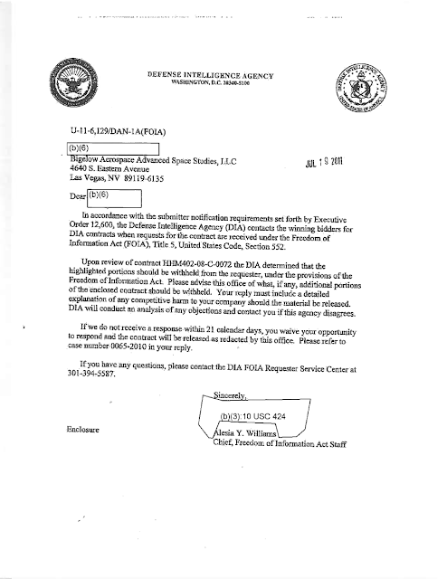 DIA Response To Brewer FOIA Request Re AAWSAP and Baass Contract (Pg 4) 7-19-19