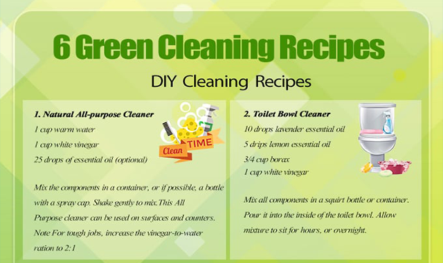 6 Natural Cleaning Recipes You Can Make at Home