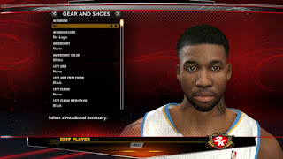 NBA 2K13 Wilson Chandler Cyber Face Patch Preview