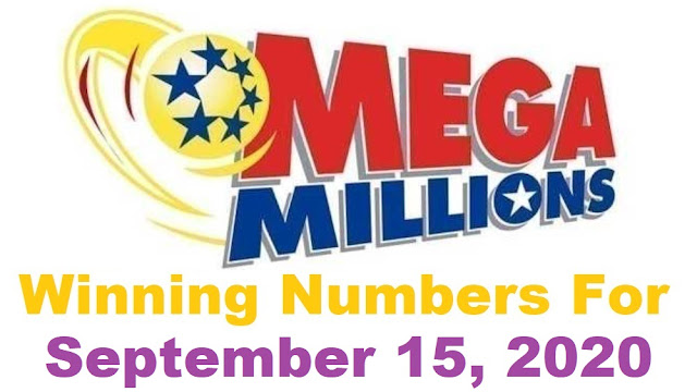 Mega Millions Winning Numbers for Tuesday, September 15, 2020