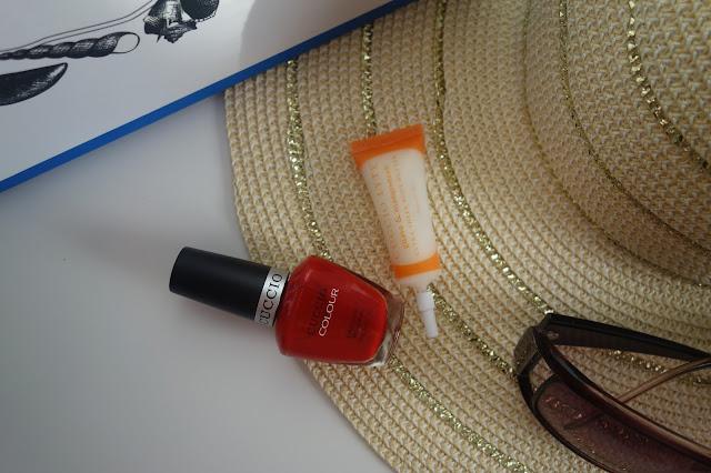 Klasyka na paznokciach czyli czerwony lakier Maine Lobster Cuccio Poland