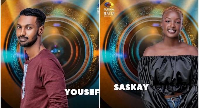 BREAKING: Yousef and Saskay evicted from BBNaija Season 6