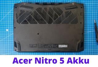Acer Nitro 5 Design
