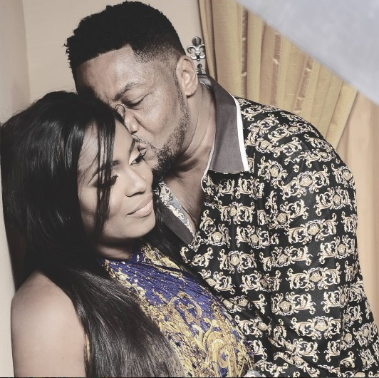 Nollywood's Most Romantic Actor Ernest Obi & Wife Eve Strike Sexy Pose In 6th Wedding Anni. Photos