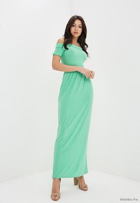 Vestidos Largos Verdes