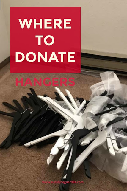 Where to Donate Clothing Hangers