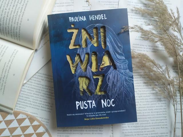 Wydawnictwo Czwarta Strona: Paulina Hendel - Pusta noc (Żniwiarz - tom 1)