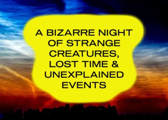 A Bizarre Night of Strange Creatures, Lost Time & Unexplained Events