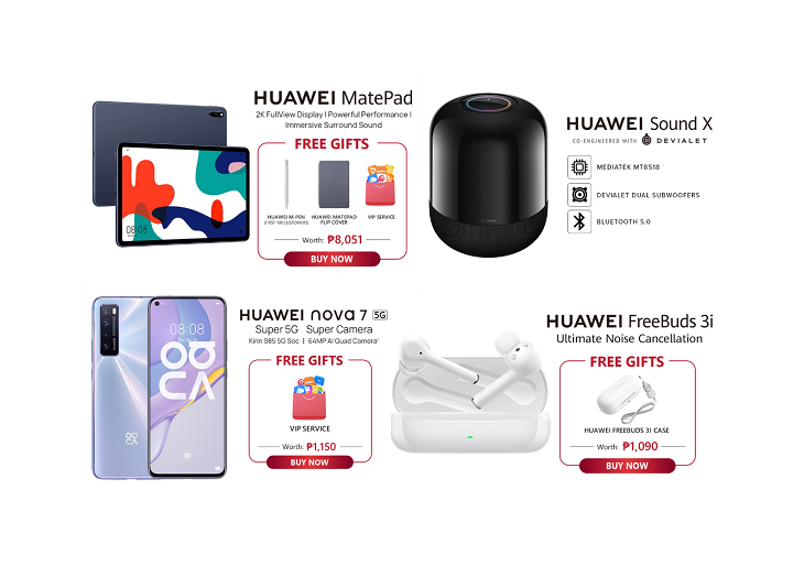 Huawei New Products in Shopee