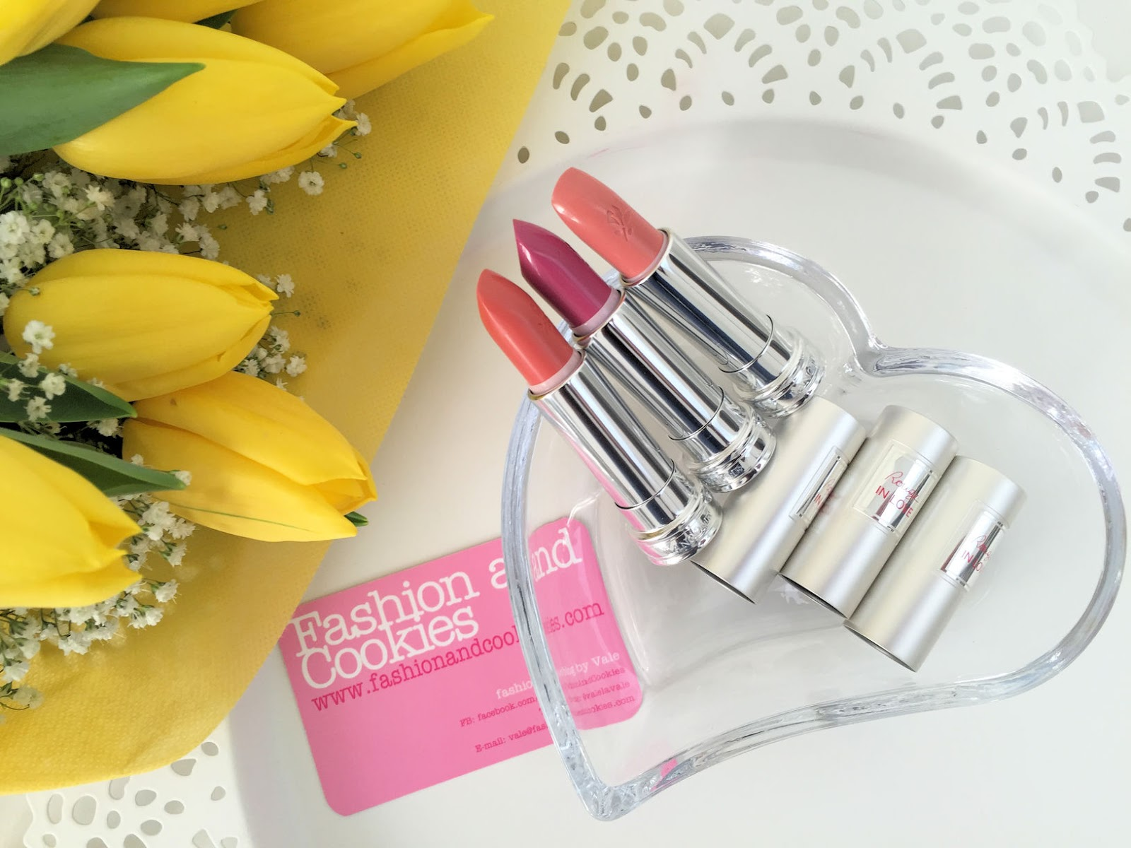 Lancôme makeup collection for Spring 2016 My Parisian Pastels lipstick in love on Fashion and Cookies beauty blog, beauty blogger